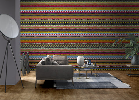 Layers Wallpaper by Richard Hutten for NLXL Lab