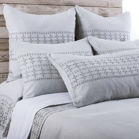 Layla Bedding in Ocean design by Pom Pom at Home