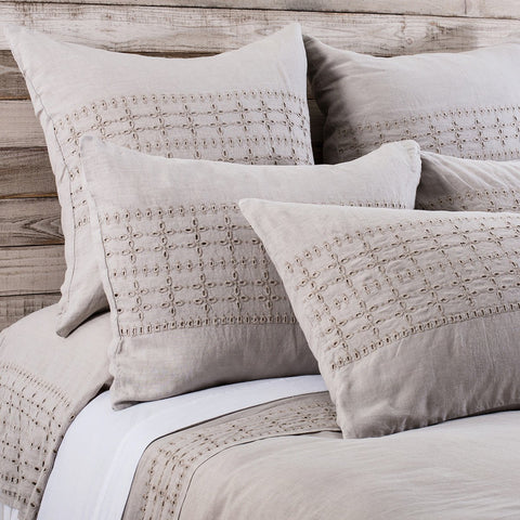 Layla Bedding in Taupe design by Pom Pom at Home