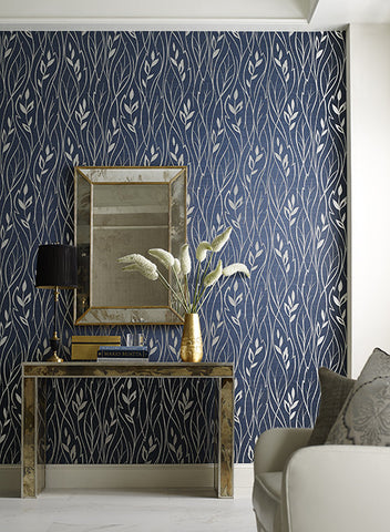 Leaf Silhouette Wallpaper by York Wallcoverings