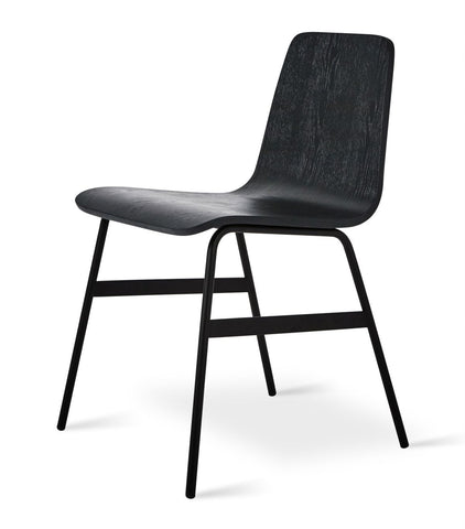 Lecture Chair in Black Ash design by Gus Modern