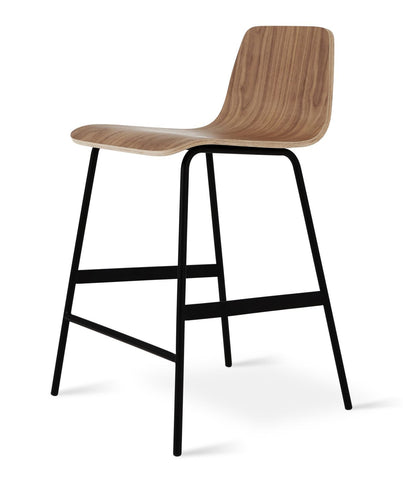 Lecture Stool in Walnut design by Gus Modern