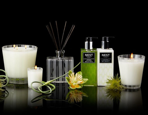 Lemongrass & Ginger Scented Classic Candle design by Nest Fragrances