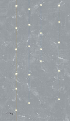 Light Lines LED Wallpaper in Various Colors by Meystyle