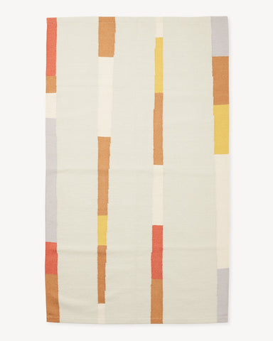 Lines Rug in Spring by Minna