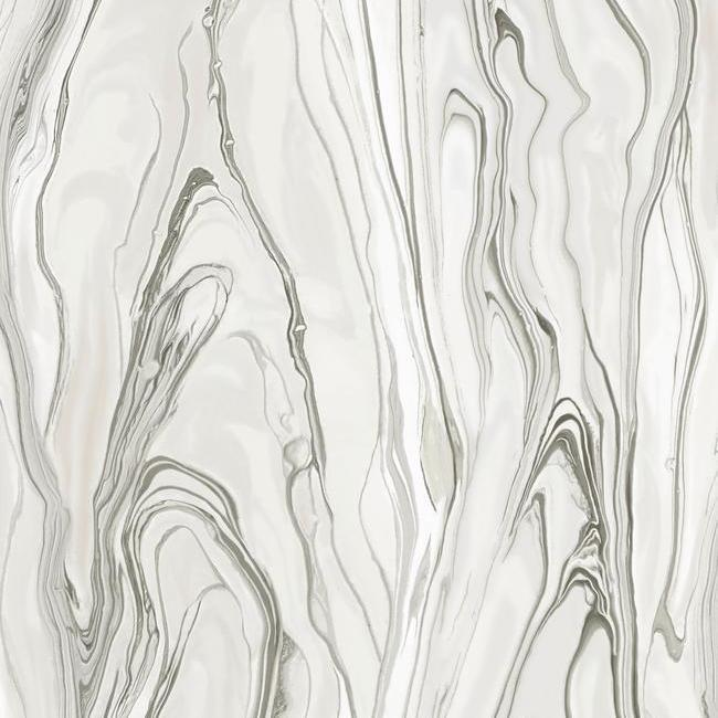 Liquid Marble Wallpaper from the Impressionist Collection by York Wallcoverings