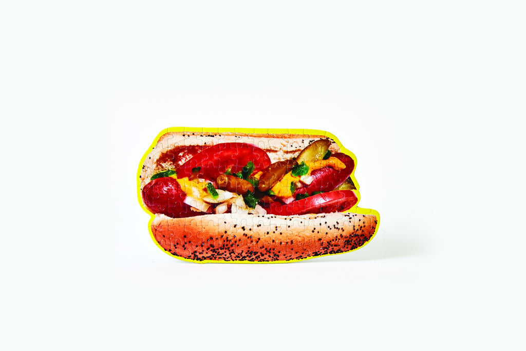 Little Puzzle Thing™ - Chicago Hot Dog design by Areaware