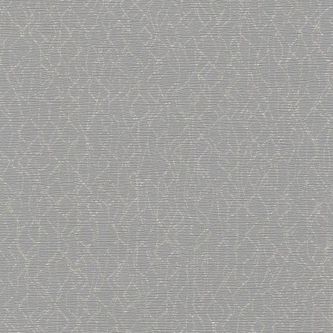 Live Wire Wallpaper in Grey and Metallic from the Terrain Collection by Candice Olson for York Wallcoverings