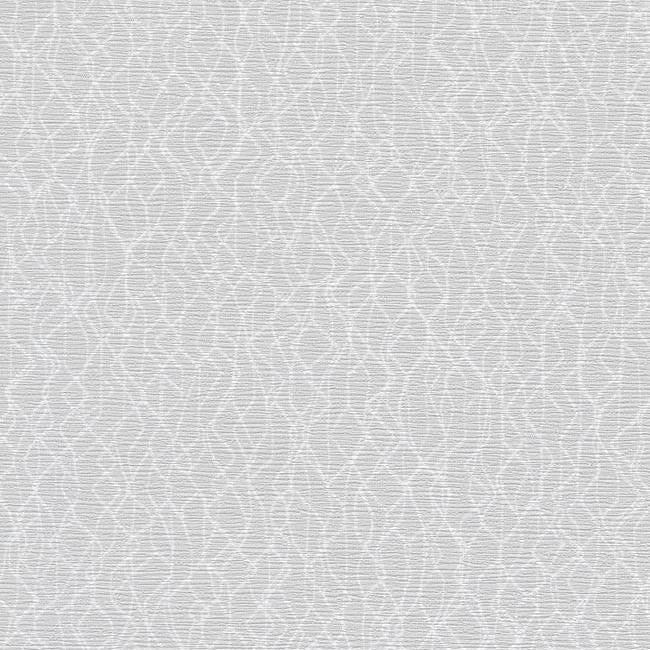 Sample Live Wire Wallpaper in Ivory and Grey from the Terrain Collection by Candice Olson for York Wallcoverings