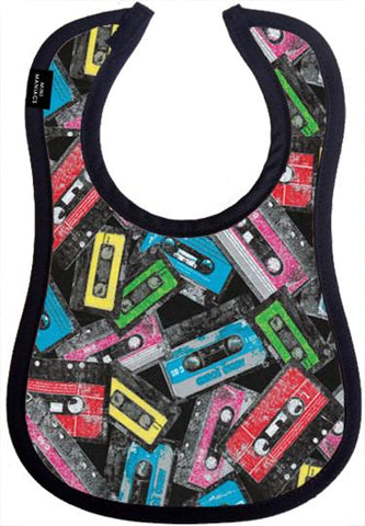 Lo-Fi Baby Bib by Mini Maniacs
