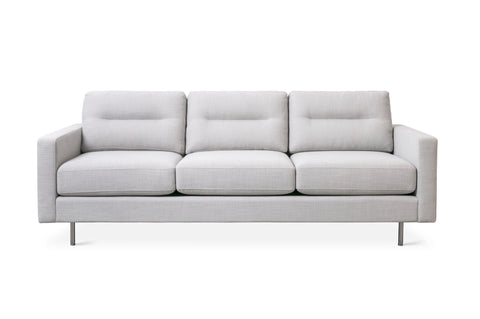 Logan Sofa (Stainless Base) in Assorted Colors design by Gus Modern
