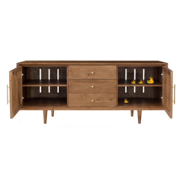 London 3 Drawer Entertainment Console in Various Finishes