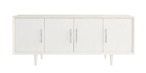 London Entertainment Console in Raw Cotton design by Redford House