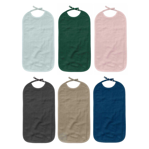 Long Bib in multiple colors by The Organic Company