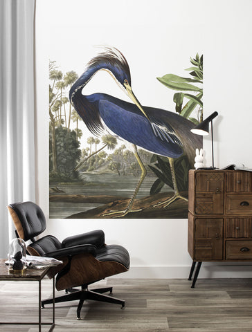 Louisiana Heron 011 Wallpaper Panel by KEK Amsterdam