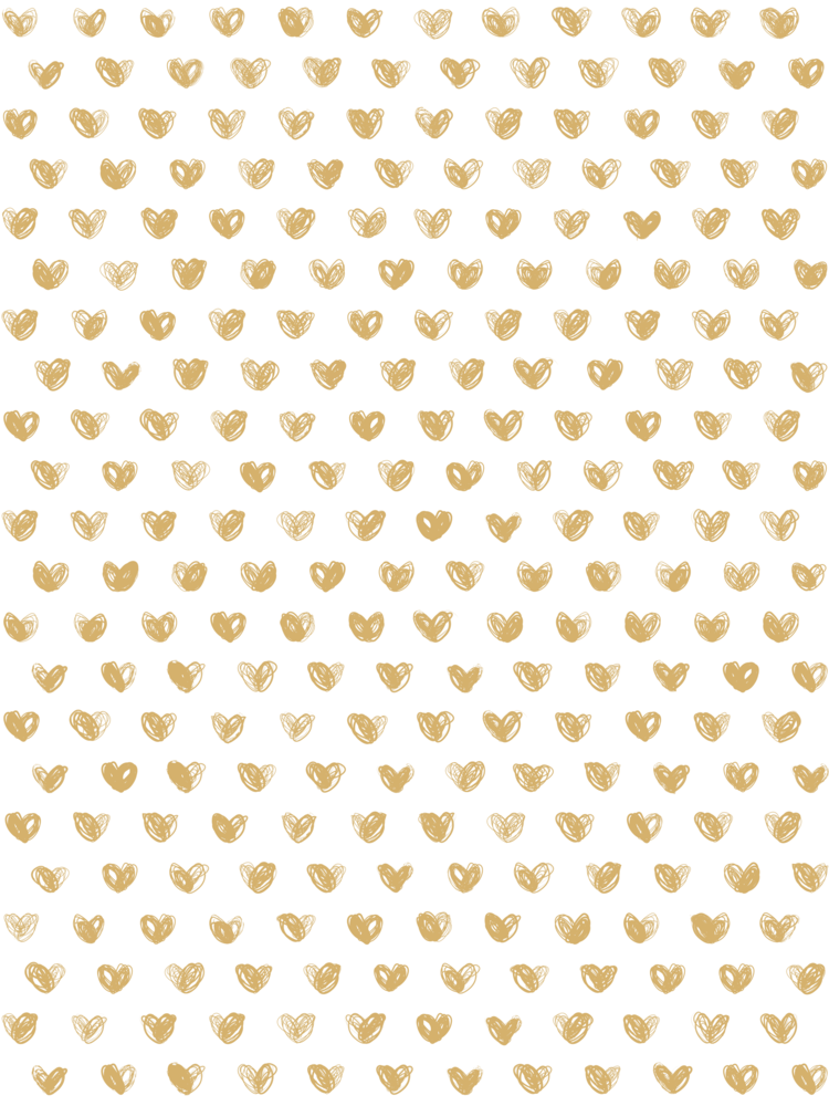 Love Wallpaper in Gold by Marley + Malek Kids