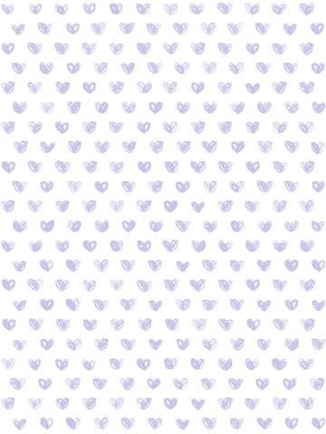 Love Wallpaper in Lavender by Marley + Malek Kids
