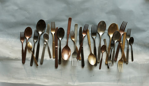 Lucca 5pc Cutlery Set in Various Finishes design by Canvas