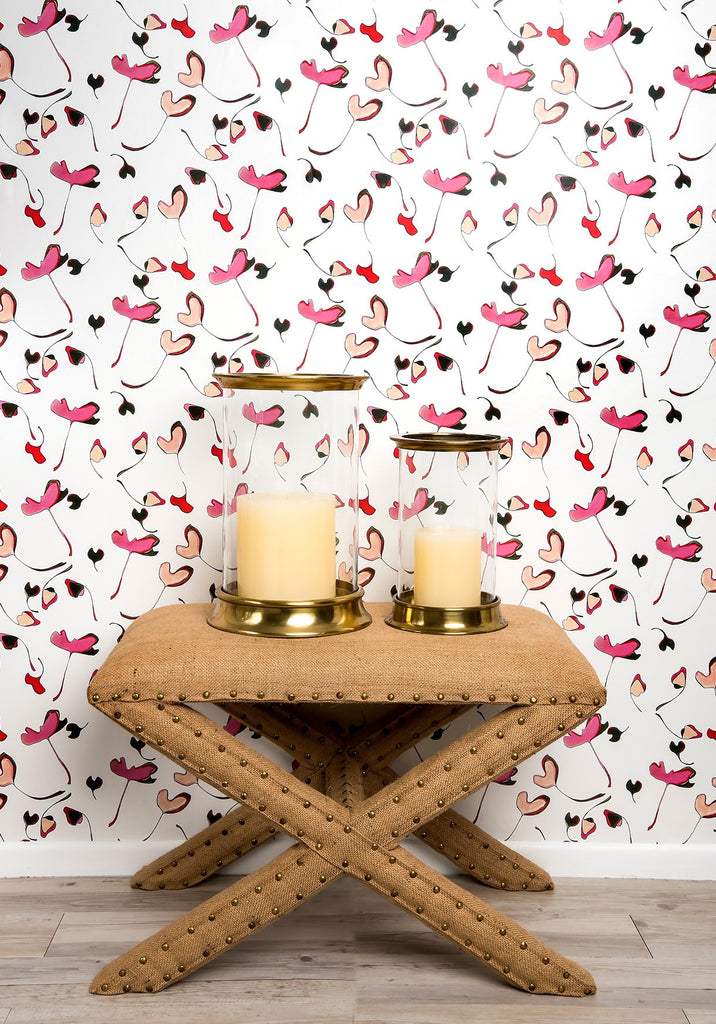 Lush Life Wallpaper from the Tastemakers Collection design by Milton & King