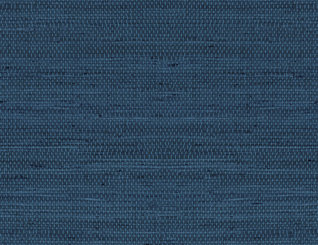 Luxe Weave Peel-and-Stick Wallpaper in Coastal Blue from ...