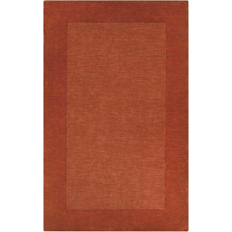 Mystique M-300 Hand Loomed Rug in Burnt Orange by Surya