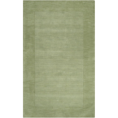 Mystique M-310 Hand Loomed Rug in Grass Green & Dark Green by Surya