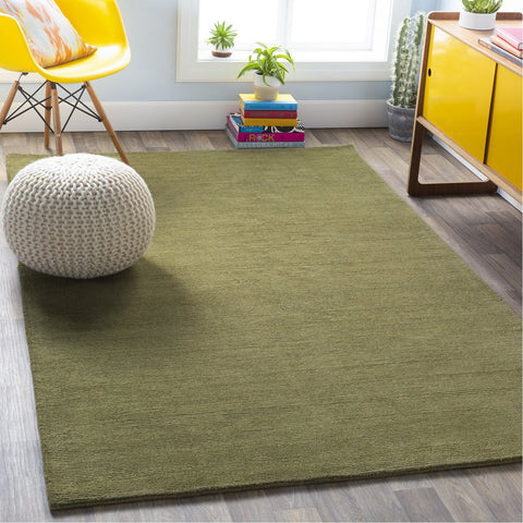 Mystique M-329 Hand Loomed Rug in Sage by Surya