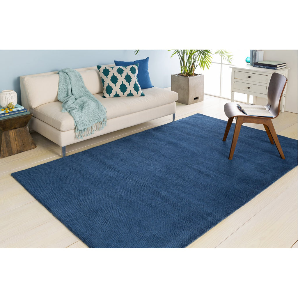 Mystique M-330 Hand Loomed Rug in Dark Blue by Surya