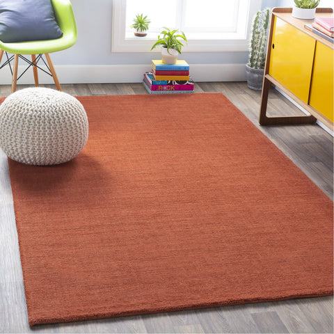 Mystique M-332 Hand Loomed Rug in Burnt Orange by Surya
