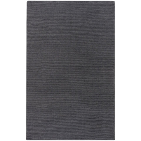 Mystique M-341 Hand Loomed Rug in Charcoal by Surya