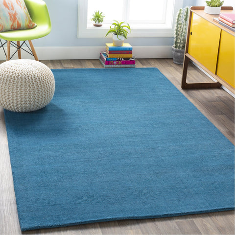 Mystique M-342 Hand Loomed Rug in Bright Blue by Surya