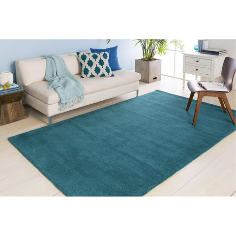 Mystique M-5330 Hand Loomed Rug in Teal by Surya