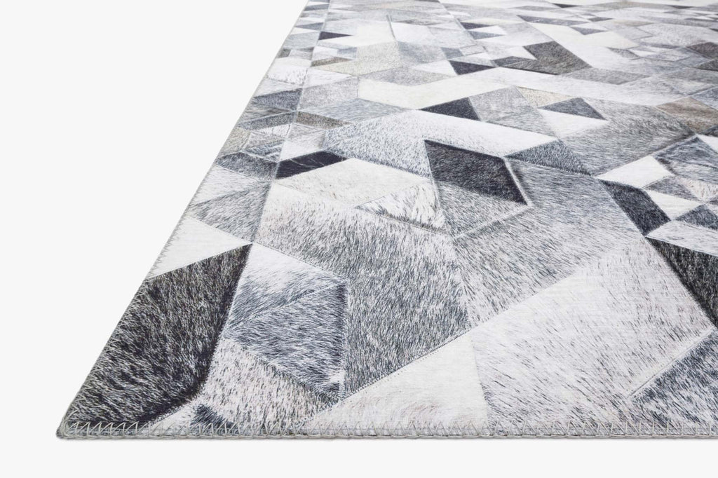 Maddox Rug in Grey & Ivory by Loloi II