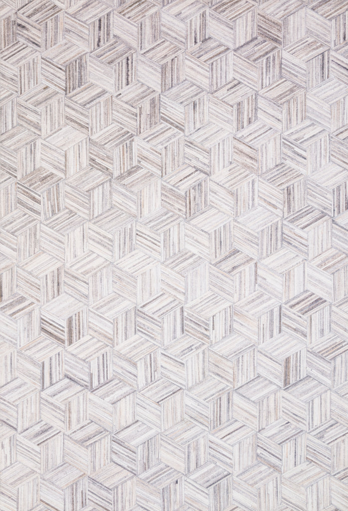 Maddox Rug in Light Grey / Ivory by Loloi II