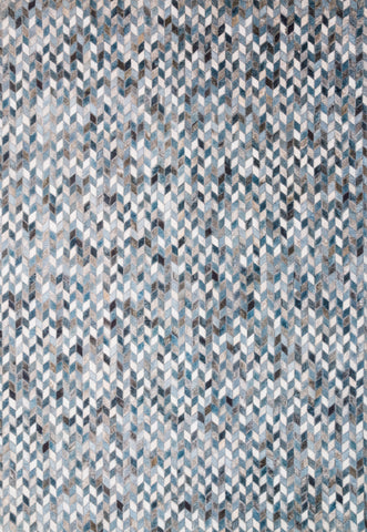 Maddox Rug in Ocean / Grey by Loloi II