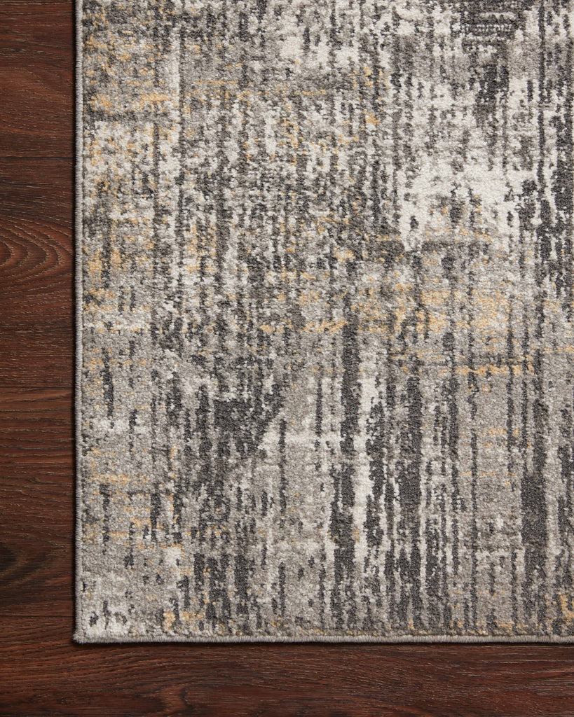 Maeve Rug in Granite / Gold by Loloi II