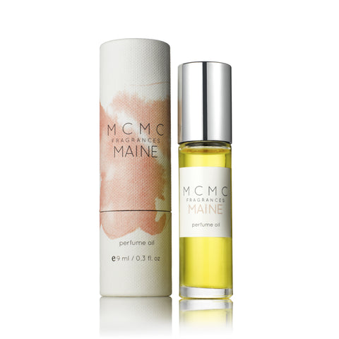 Maine 9ml Perfume Oil design by MCMC Fragrances