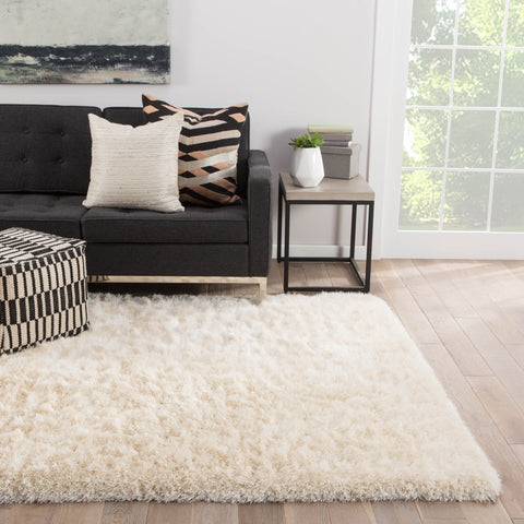 Marlowe Solid Rug in Whisper White design by Jaipur