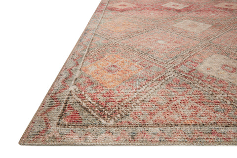 Malik Rug in Dove / Sunset by Justina Blakeney x Loloi