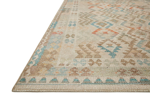 Malik Rug in Natural / Multi by Justina Blakeney x Loloi