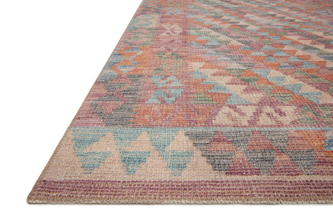 Malik Rug in Berry / Multi by Justina Blakeney x Loloi