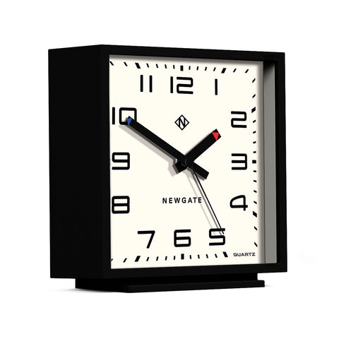 Amp Mantel Clock with Cream Dial