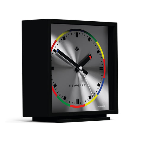Amp Clock in Cave Black