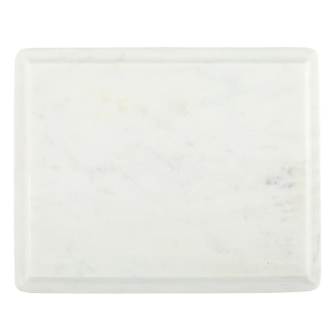 Medium Ogee Slab in White Marble design by Sir/Madam