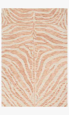 Masai Rug in Blush & Ivory by Loloi