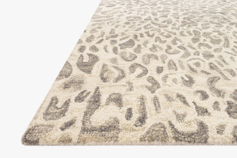 Masai Rug in Grey & Ivory by Loloi