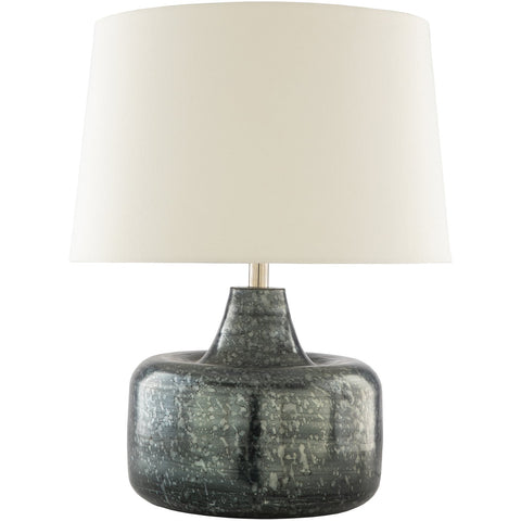 Micah MCH-002 Table Lamp in Grey & White by Surya