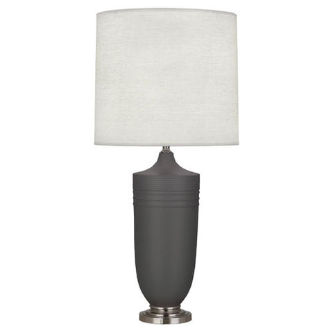 Michael Berman Hadrian Matte Ash Table Lamp design by Robert Abbey