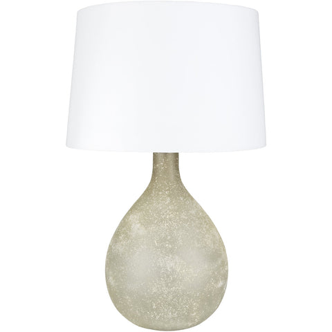 Meadowside MDE-001 Table Lamp in Khaki & White by Surya