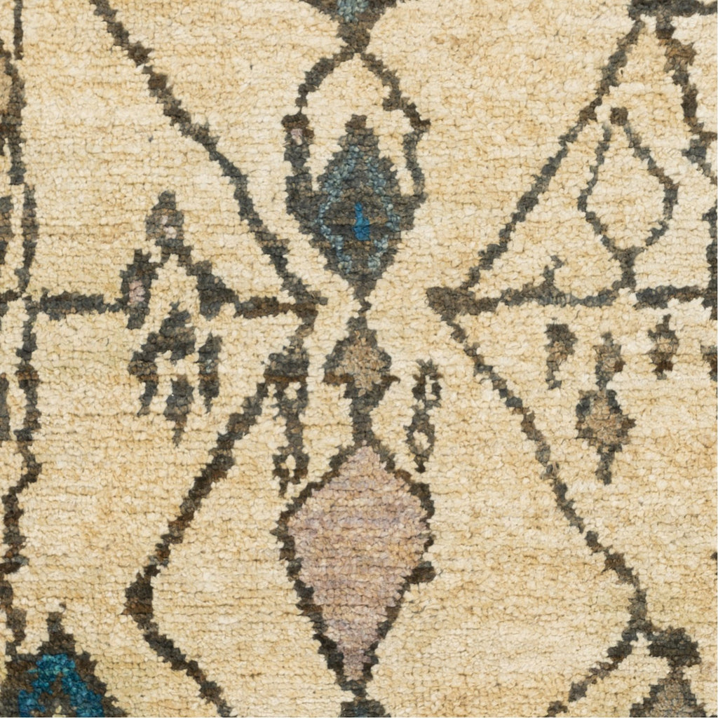 Medina MED-1112 Hand Knotted Rug in Taupe & Beige by Surya